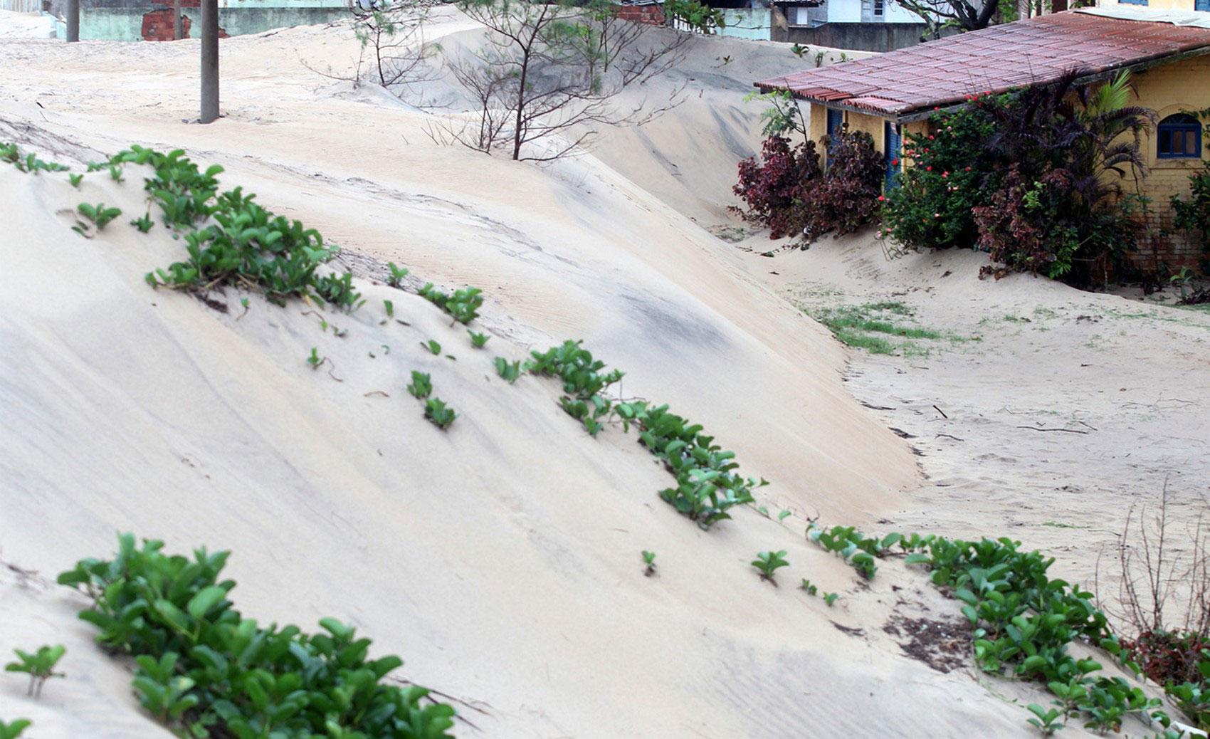на пляже в Atafona, фото