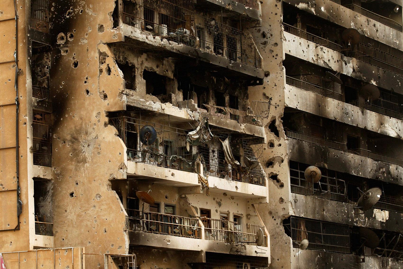 здания на улице Триполи, фото