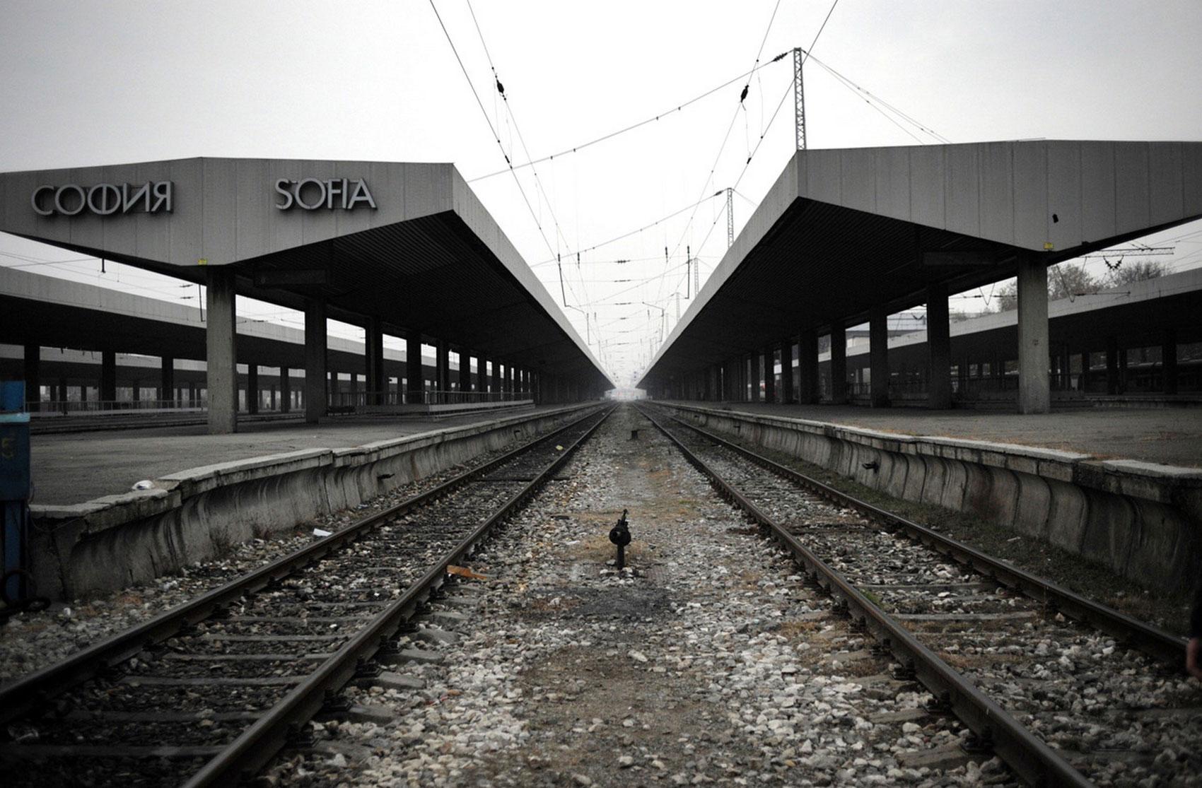 железнодорожный вокзал Софии, фото