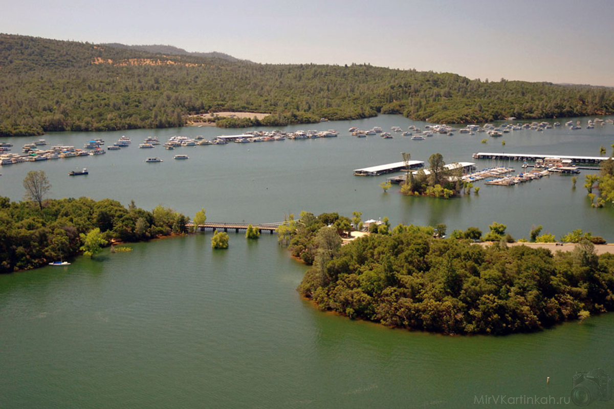 озеро Оровилль