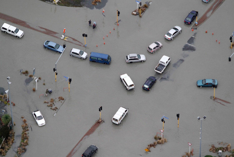 землетрясние, фото Новой Зеландии
