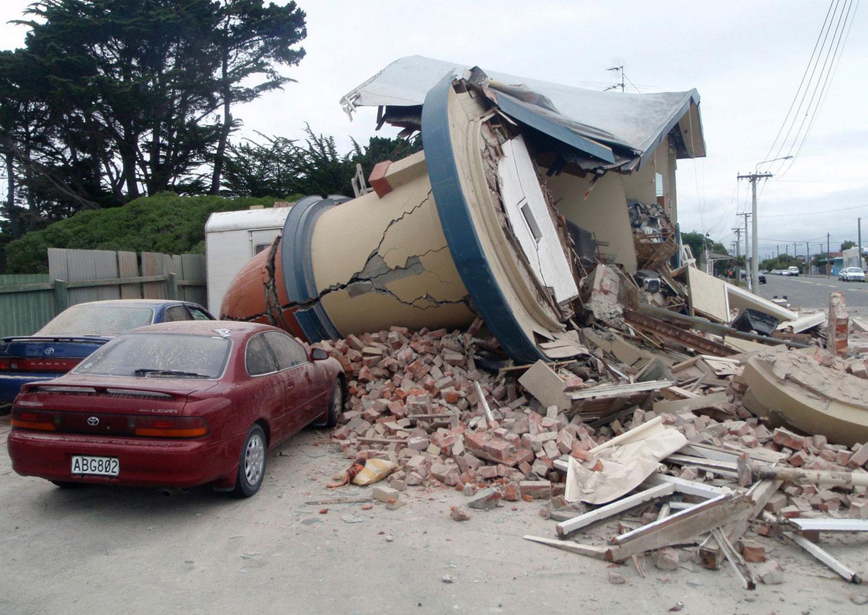 руины, фото Новой Зеландии