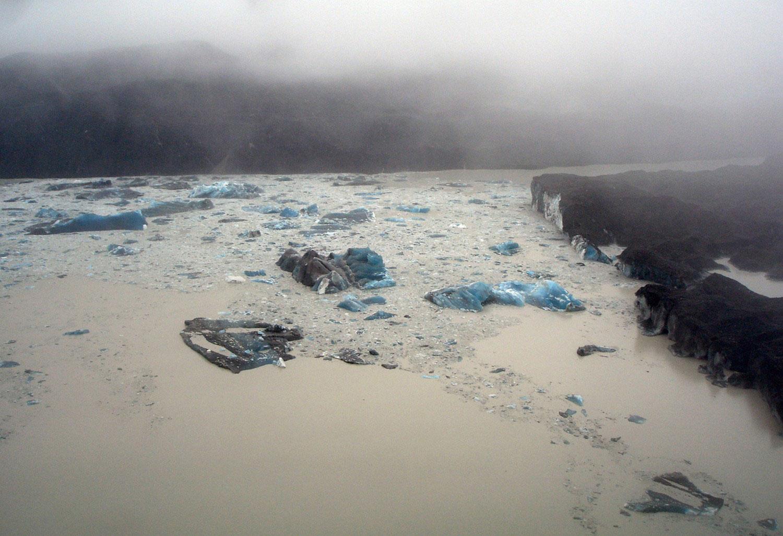 айсберги в Тасманском озере, фото