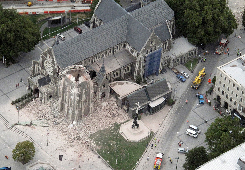 Собор в центре города, фото