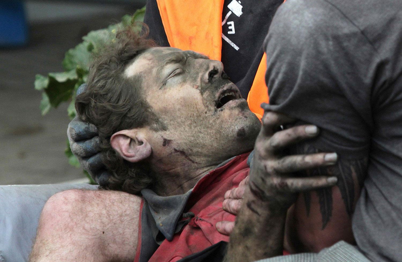 пострадавший мужчина, фото
