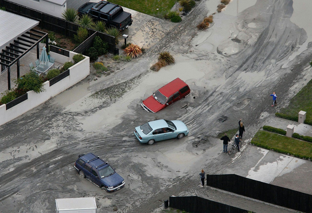 Застрявшие автомобили, фото