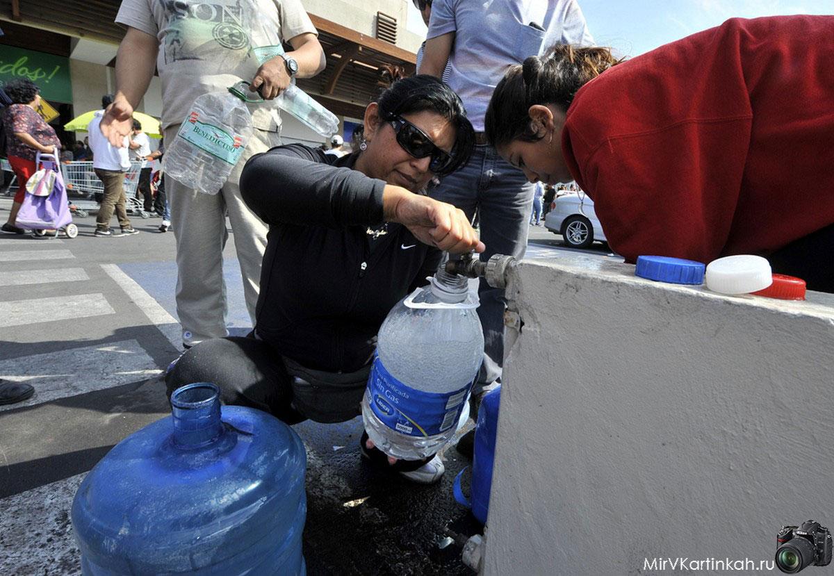 Сбор питьевой воды