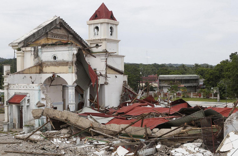 разрушенная приходская церковь