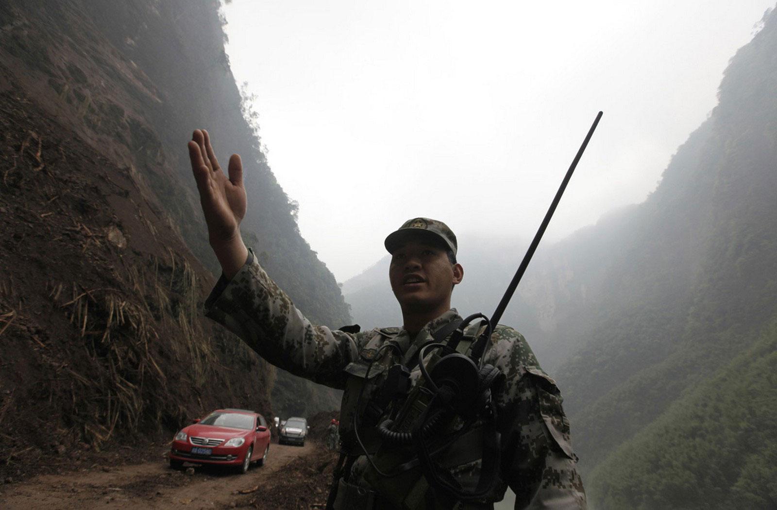 Военнослужащий Китайской Народной армии