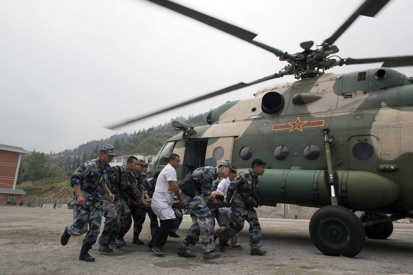Эвакуация тяжело раненых
