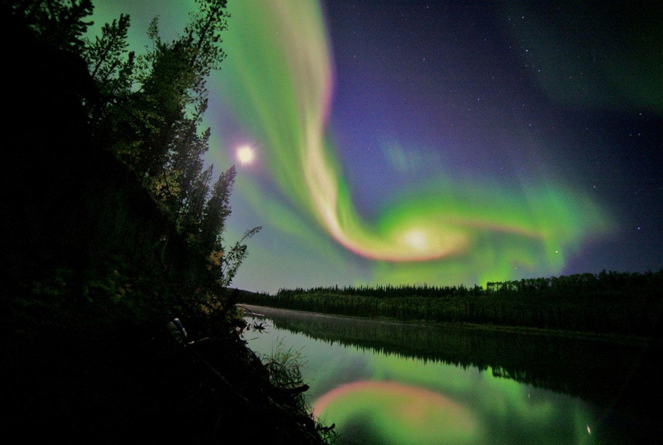 северное сияние, фото
