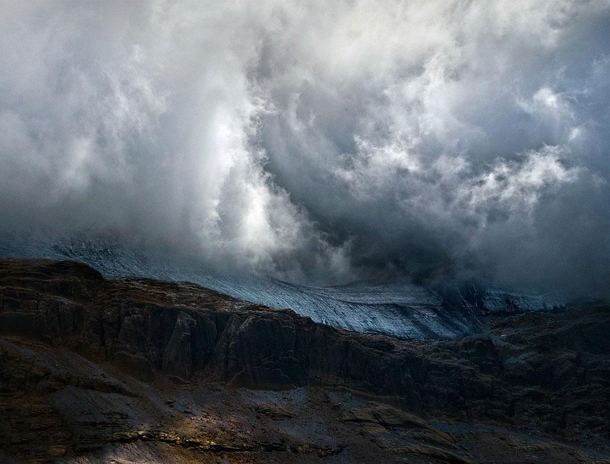горная вершина в Пиренеях