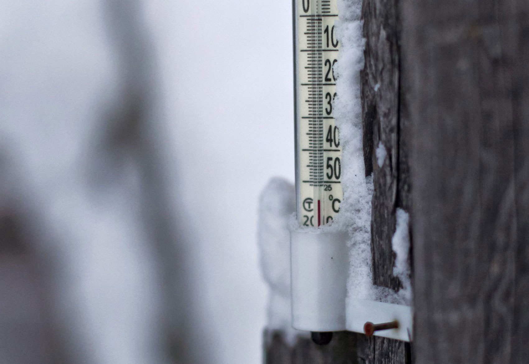 термометр в селе