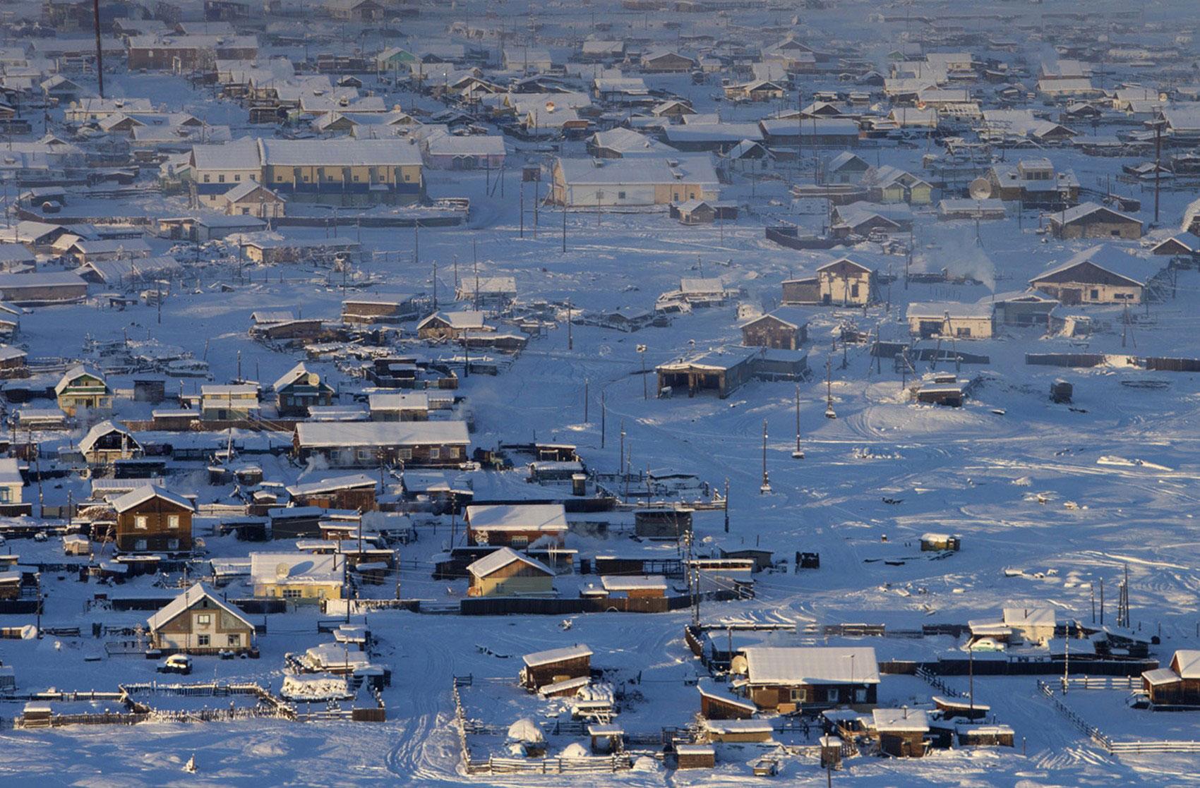 Зима в деревне Томтор